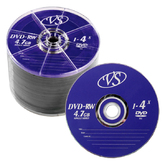 Диски DVD+RW  50шт.4.7ГБ 4x BULK,SP VS,DATA STANDART, MIREX