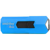 Флэш-диск  8ГБ SMART BUY Stream USB2.0 синий