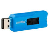Флэш-диск 64ГБ SMART BUY Stream USB2.0 синий