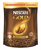 Кофе NESCAFE GOLD  75г пакет