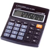 Калькулятор 12р.CITIZEN SDC-812BN 124*102мм
