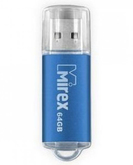 Флэш-диск  4ГБ MIREX UNIT USB2.0 голубой
