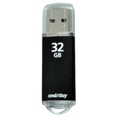 Флэш-диск 32ГБ SMART BUY V-Cut USB2.0 черный
