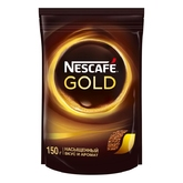 Кофе NESCAFE GOLD 150г пакет