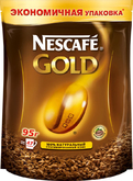 Кофе NESCAFE GOLD  95г пакет